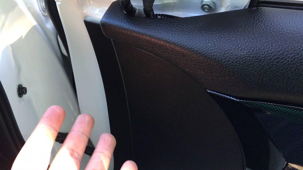2013 Accord Door Rattle Fix - YouTube