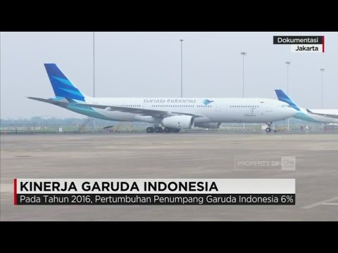 Garuda Indonesia Catatkan Laba Bersih 2016 Rp. 124,5 Miliar