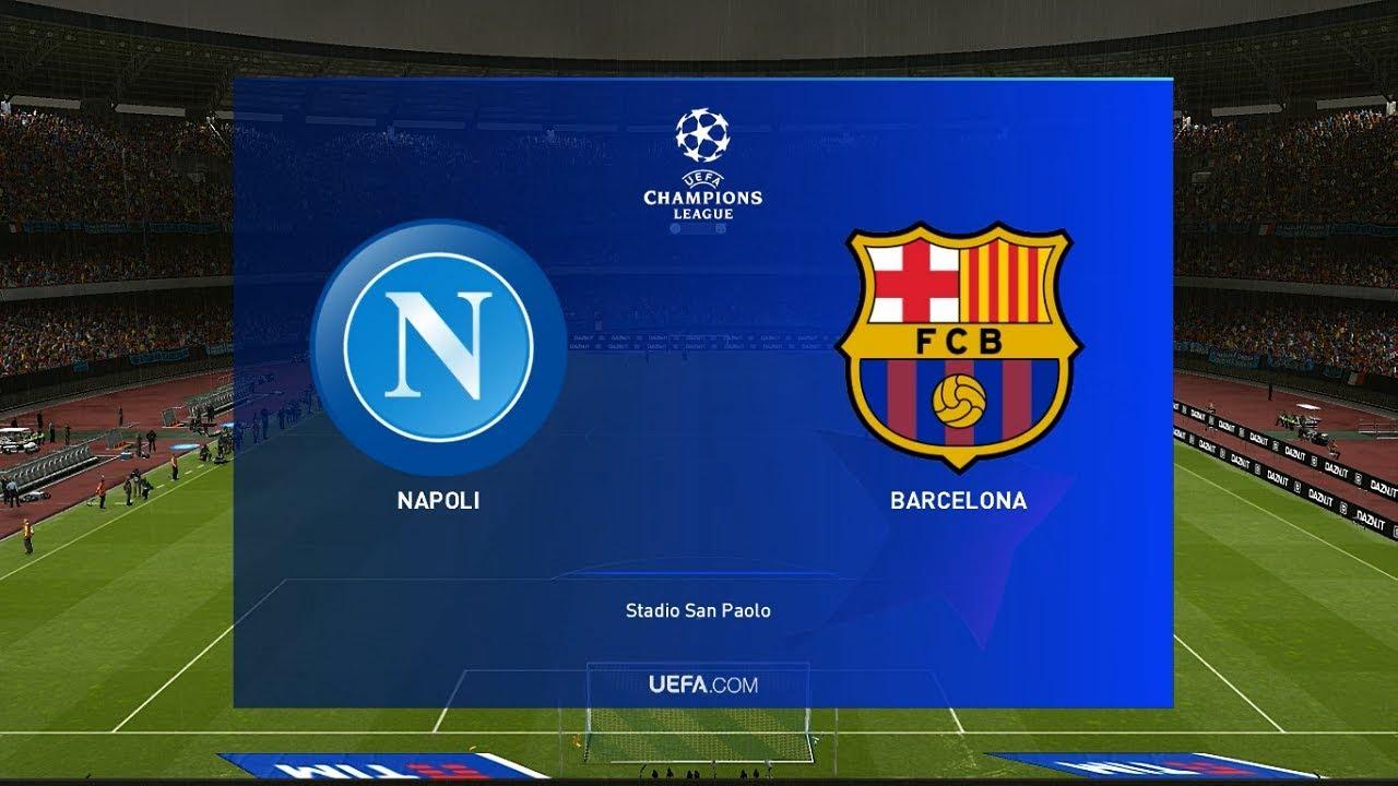 Image result for napoli vs barcelona