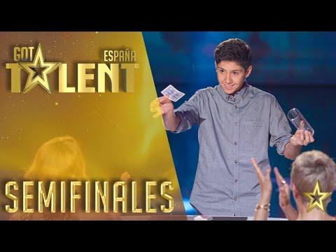 El público se rinde ante los trucos de magia de Manuel | Semifinales 3 | Got Talent España 2016