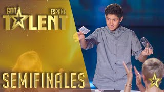 Manuel Alcalde | Semifinals 3 | Spain's Got Talent 2016