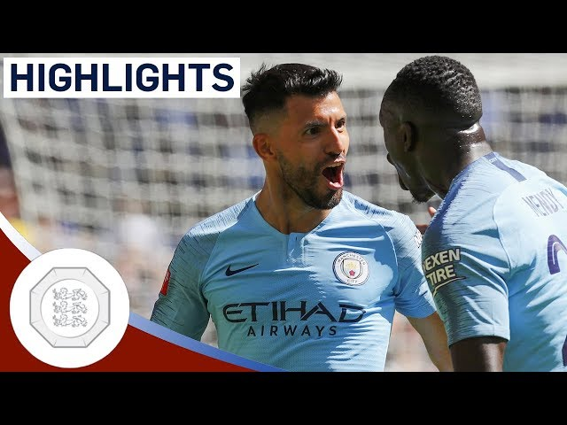 Man City 2-0 Chelsea | Aguero Hits Brilliant Brace | FA Community Shield Highlights