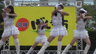 2017.5.3 宮城げんき市 ほや祭り みちのく仙台ORI☆姫隊 第3部 Welcome t...