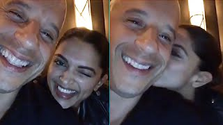 vuclip (Video) Deepika Padukone Teaches Vin Diesel Hindi | XxX Return Of Xander Cage