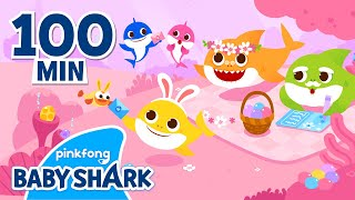 Easter Sharks UNITE!   Baby Shark\x27s Happy Easter and More   +Compilation   Baby Shark Official