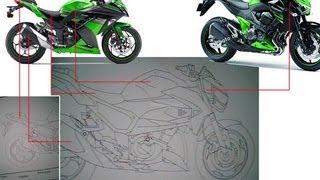aprendendo a andar moto kawasaki ninja 300cc spci