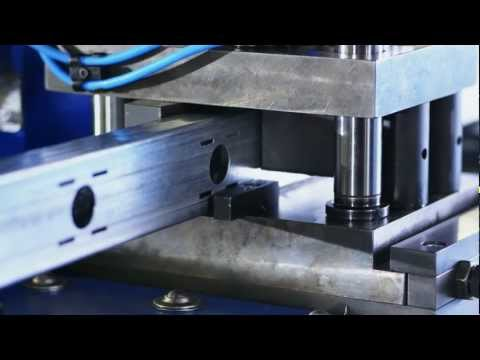 PETIG - Rohrstanzanlage // Tube Punching Machine RPS 300 Series
