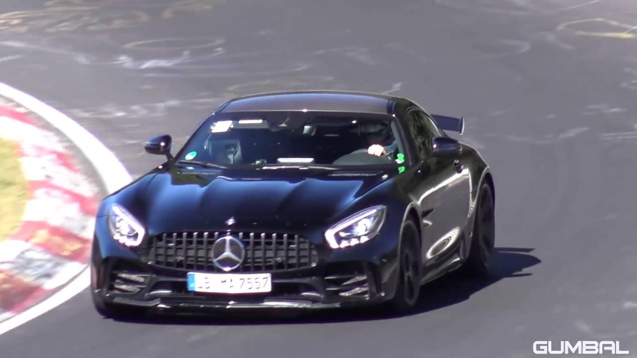 mercedes amg gtr 585cv en nurburgring - youtube
