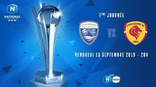 7e journée : Avranches - Lyon Duchère I National FFF 2019-2020