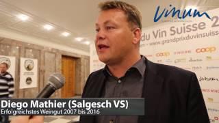 Diego Mathier zum Titel «Bestes Weingut 2006-2017»