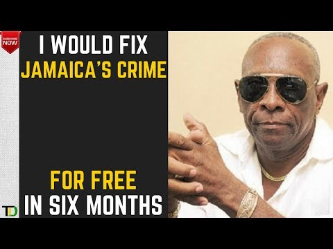 Reneto Adams says SIX MONTHS is all he NEEDS to FIX Crime in Jamaica  - Teach Dem