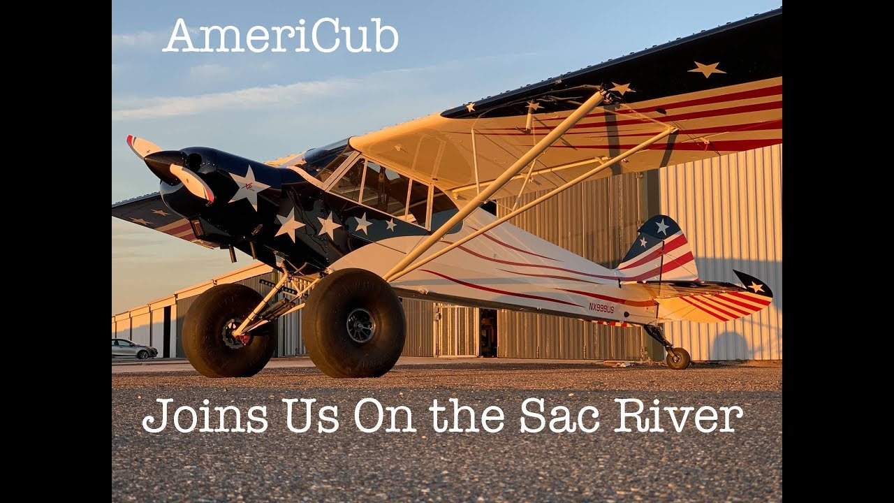 Americub by Legend Aircraft Joins Us on the Sac River