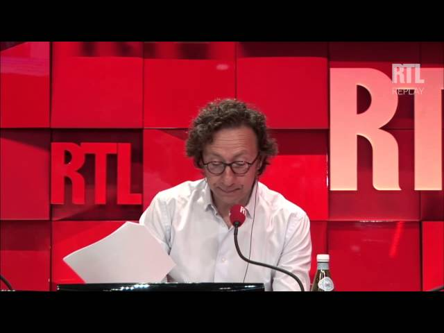 Stéphane Bern reçoit Carole Gaessler dans A la bonne heure 30 06 2015 part I - RTL - RTL