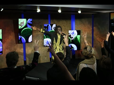 Emmanuel Jal: Peace Builder and Former Child Soldier Performs | #WTFuture