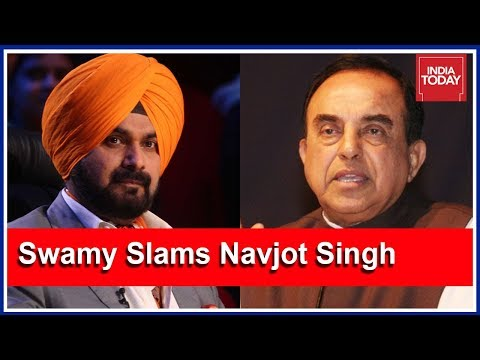 Subramanian Swamy Slams Navjot Singh For Accepting Imran Khan`s Invite For Oath Ceremony