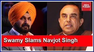 Subramanian Swamy Slams Navjot Singh For Accepting Imran Khan's Invite For Oath Ceremony