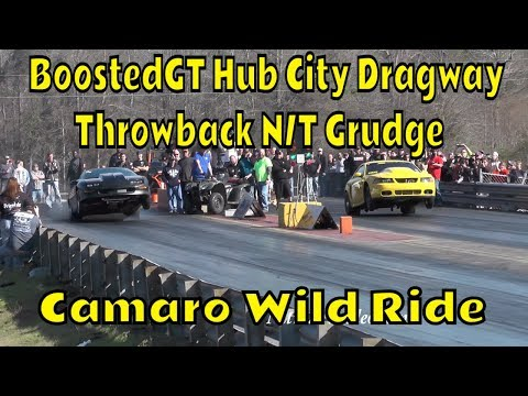 BoostedGT, Hub City Dragway, Shake Downs, Test Hits, Grudge Racing, No Time (NT)