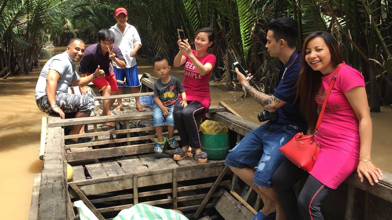 Phần 3 l Du lịch ghe trên sông cùng gia đình anh Vũ l Vị Ngọt Quê Hương