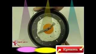 Прикольные Подарки Часы Яичница Сковородка