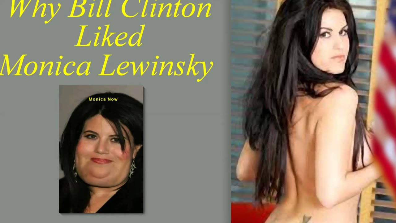 Girls monica lewinsky leaked video pointy
