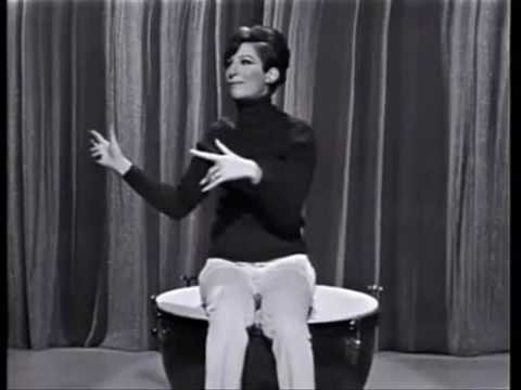 Barbra Streisand : Stand-Up Comedienne  !!!!    enjoy, enjoy