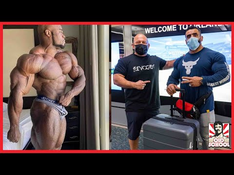 Hadi is in THE US! + Brandon Curry Looks Insane 1 Week Out! + Hunter Labrada Update