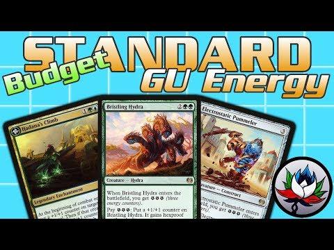 MTG – $20 Budget U/G Energy Standard Deck Tech for Magic: The Gathering – Rivals of Ixalan!