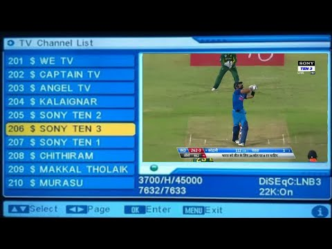 Dd free dish in all paid channels setting official video.