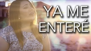 Video Ya me enteré (Reik) - Marián download MP3, 3GP, MP4, WEBM, AVI, FLV November 2017