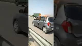 Sultan pur car accident in Hyderabad