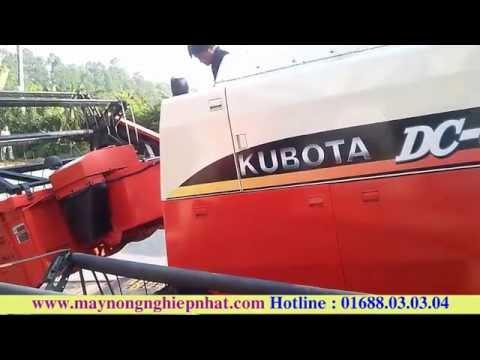 Máy Gặt Đăng Lê Xuất Máy gặt Kubota Dc68G hàng đẹp cho khách hàng các tỉnh Miền Bắc Giá Rẻ nhất