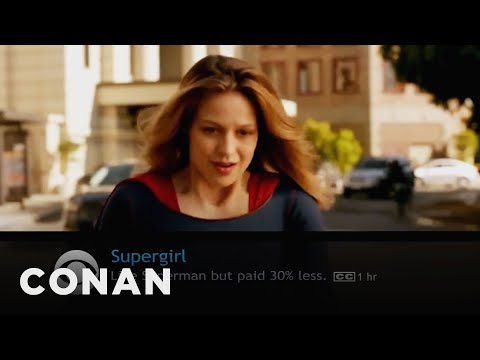 What Conan's Watching: Supergirl, Dance Moms Edition  - CONAN on TBS