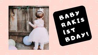 BABY RAKIS 1ST BDAY CAKE!!!