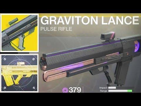Destiny 2 Graviton Lance Catalyst Masterwork Unlocked
