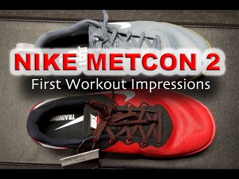 Nike Metcon 2 STABLE AF! - First workout impressions - Crossfit shoes d5c940aed
