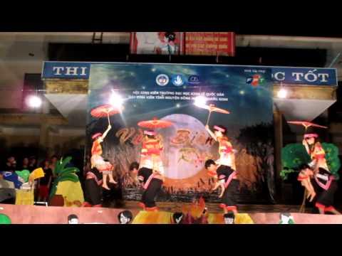 """Múa """"Xuân về trên bản"""" -  Mùa hè TNTN 2012 - Đội SVTNĐH Quảng Ninh"""