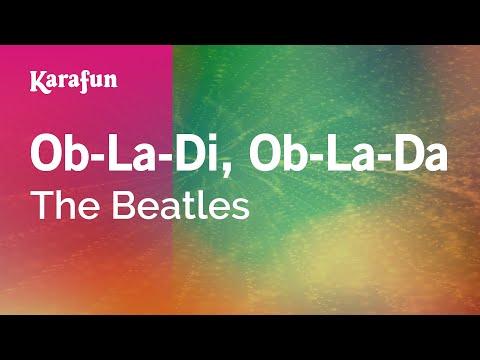 Karaoke Ob-La-Di, Ob-La-Da - The Beatles *