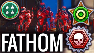 FATHOM OVERKILL EXTERMINATION FRENZY - Halo 5 Gameplay