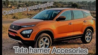 #Tata #Harrier Accessories | Build Your Tata Harrier | #TataHarrier Online Configuration.