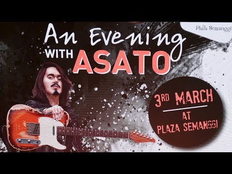An Evening with Asato at Plaza Semanggi, it's FREE!! - @hiendguitar (FULL VIDEO)