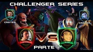 ArenaHearthStoneTV: Campeonato Challenger Series Seven x Nuba Parte 1