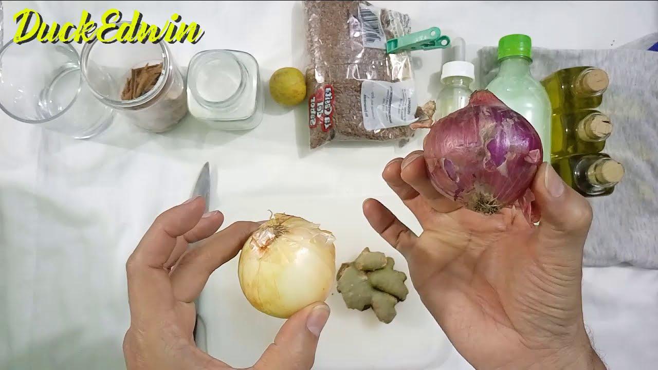 Cómo hacer el mejor Shampoo de cebolla SIN olor - Hará crecer rápido largo hermoso y abundante