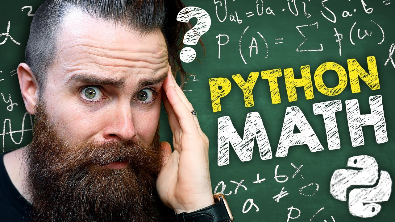 Download do you need to be good at MATH to learn Python? // Python RIGHT NOW!! // EP 3