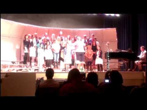 Hamshire Fannett High School Choir Christmas Concert