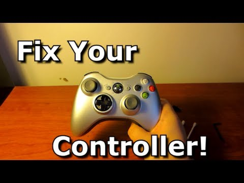"""How To Fix Sticky or """"Broken"""" Analog Sticks - The Solution - Xbox 360 & PS3"""