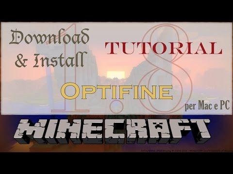 how to add optifine to minecraft on mac