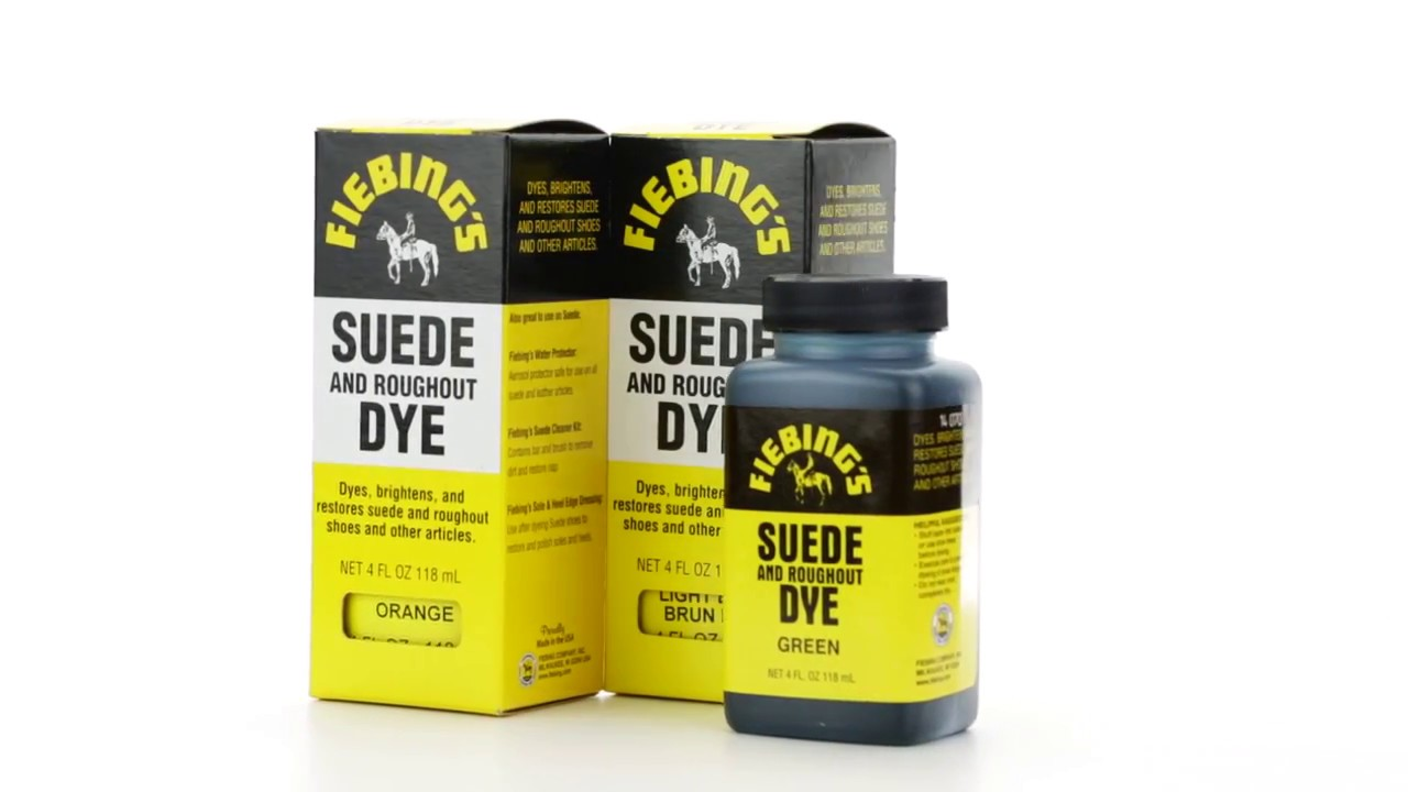 Wildlederfarbe Fiebing's Suede & Rough Out Dye