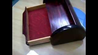 Wrapping Lid Wooden Box By Bhaskaran Menon