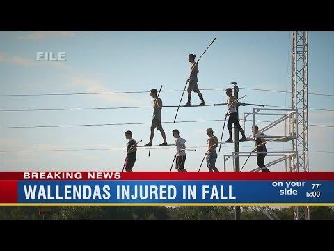 Wallenda's Injured In Fall