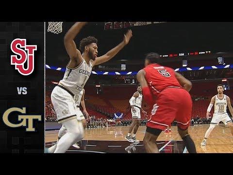 St. John's vs. Georgia Tech Basketball Highlights (2018-19)